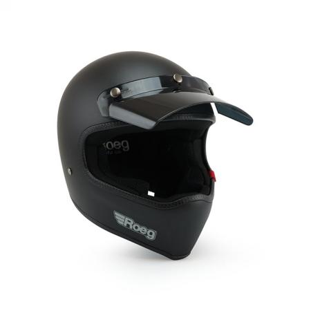 ROEG Helmet Peruna - Matte Black with ECE