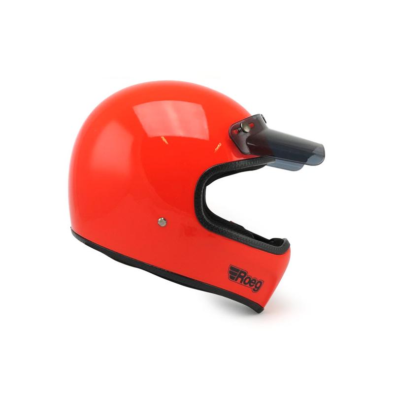 ROEG Helmet Peruna - Oompa Orange with ECE