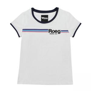 ROEG Frauen T-Shirt - Stripe White
