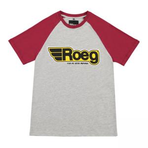 ROEG T-Shirt - Burk Grey/Red