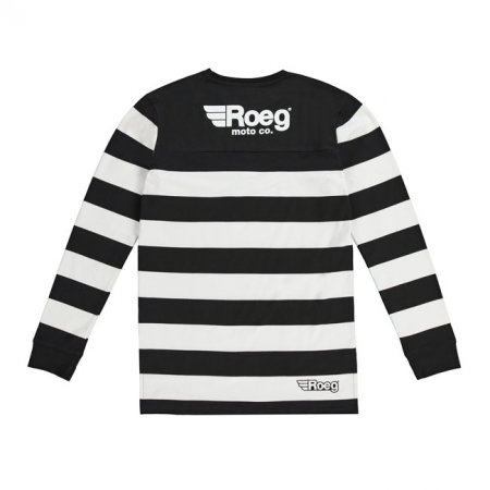 ROEG Sweater - Seb Jersey Black/White