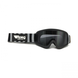 ROEG Goggles - Striped Peruna Black/Fog