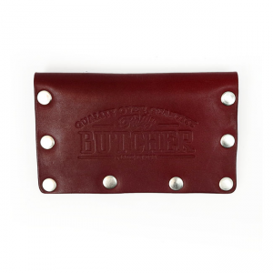 Rusty Butcher Wallet - Basic Blood Red