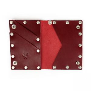 Rusty Butcher Geldbörse - Collector Blood Red