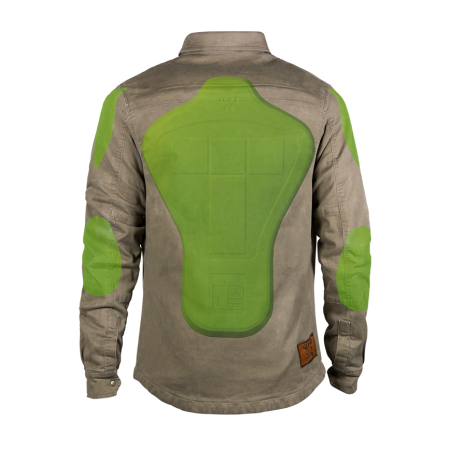 John Doe Hemd - Motoshirt Camel