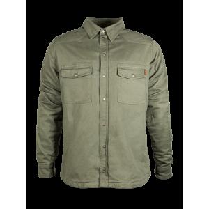 John Doe Hemd - Motoshirt Olive