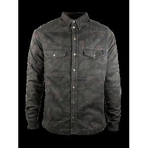 John Doe Hemd - Motoshirt Camouflage