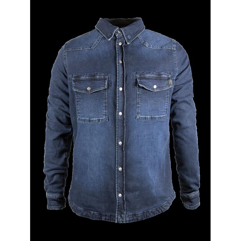 John Doe Shirt - Motoshirt Dark Blue