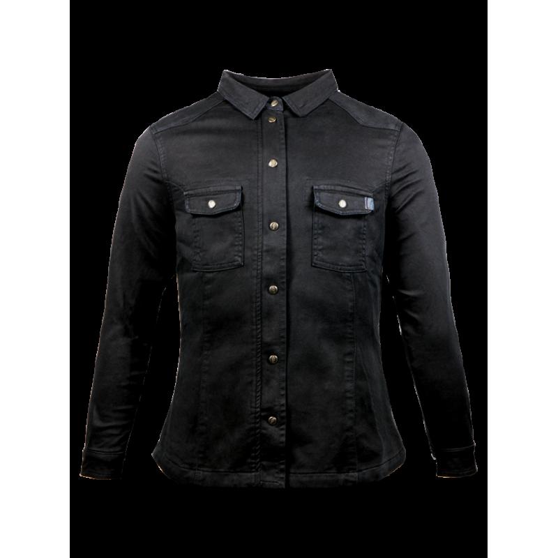 John Doe Ladies Shirt - Motoshirt Black