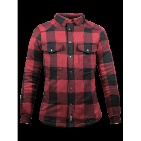 John Doe Ladies Shirt - Motoshirt Red/Black