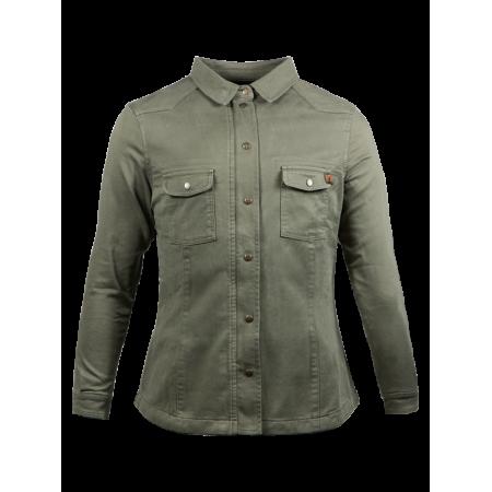 John Doe Ladies Shirt - Motoshirt Olive
