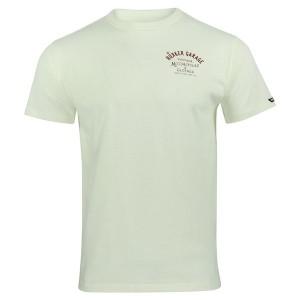 Rokker T-Shirt - Garage Weiss