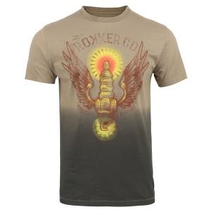 Rokker T-Shirt - Wings Braun