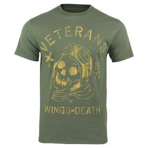 Rokker T-Shirt - Veterans Grün