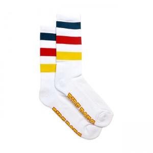 ROEG Socks - Rider White