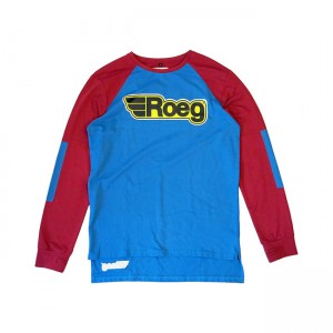 ROEG Sweater - Ricky Red/Blue