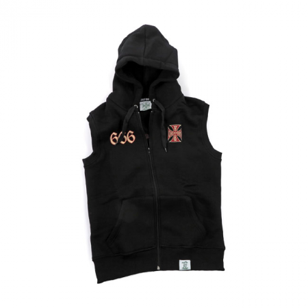 West Coast Choppers Sleeveless Hoodie - Chapel