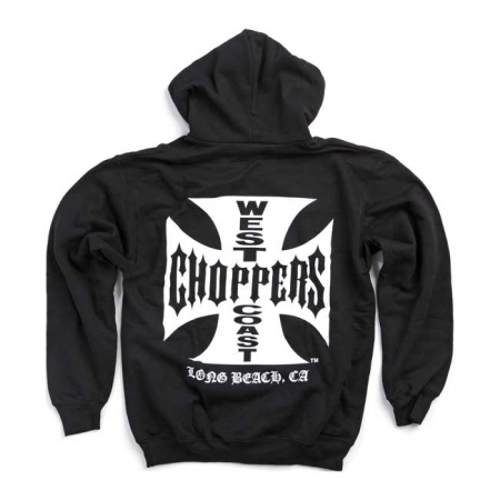 West Coast Choppers Hoodie - Maltezer Cross