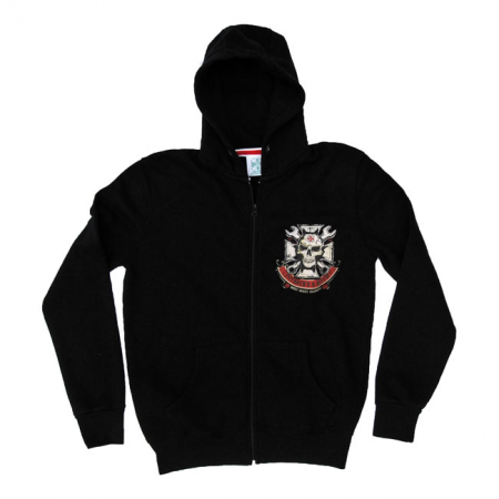 West Coast Choppers Zip Hoodie - Mechanic