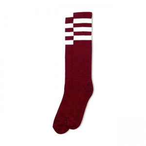 American Socks Socken - Red...