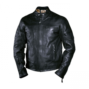 Roland Sands Leather Jacket - Ronin Black