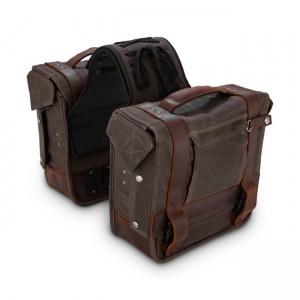 Burly Brand Saddlebag -...