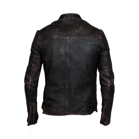 DMD Leather Jacket - Solo Rider Dark Brown