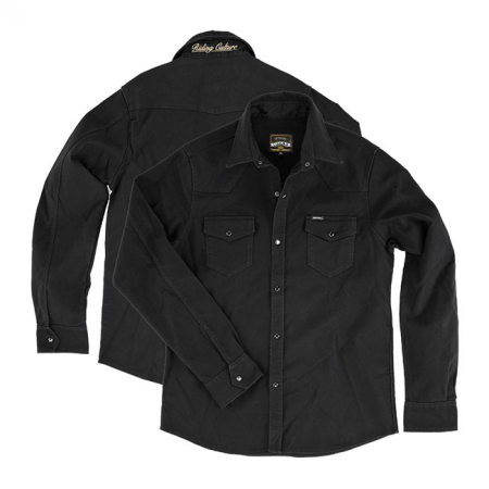 Rokker Denim Jacket - Black Jack