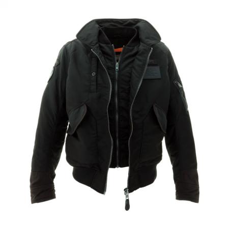 Schott NYC Jacket - Vintage CWU Pilot Black
