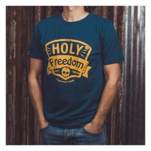 Holy Freedom T-Shirt - Navy