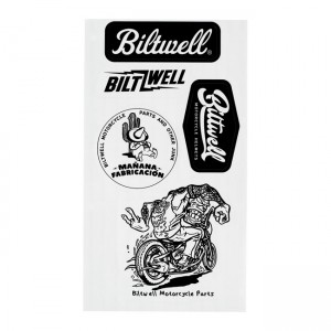 Biltwell Sticker - Sheet A