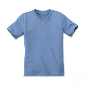 Carhartt T-Shirt - Solid Blue