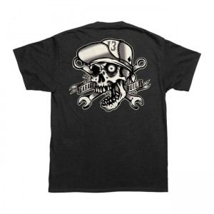 Lucky-13 T-Shirt - Skull Bro
