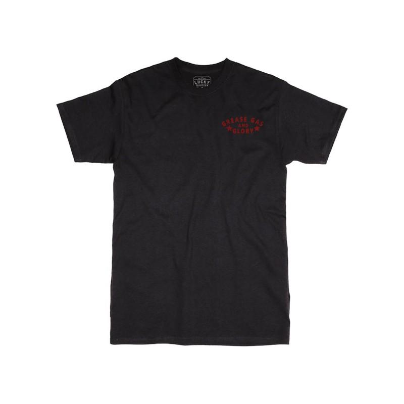 Get Greasy Mens T-Shirt Biker