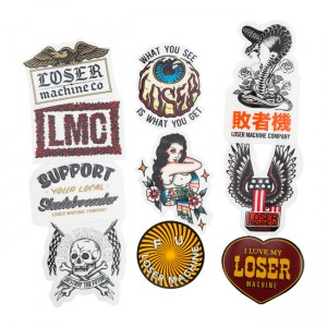 Loser Machine Sticker -...