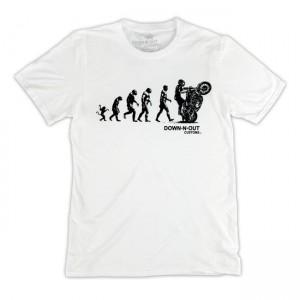 Down-N-Out T-Shirt - Biker...