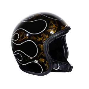 70s Helm Superflake - Skull...
