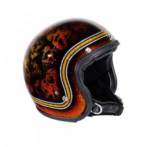 70s Helm Superflake -...
