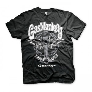 Gas Monkey Garage T-Shirt -...