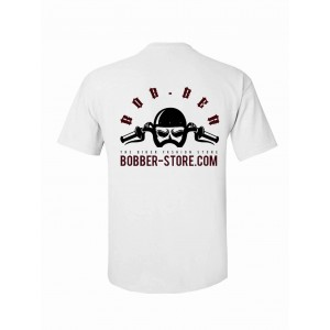 bob.ber T-Shirt - Logo Weiss
