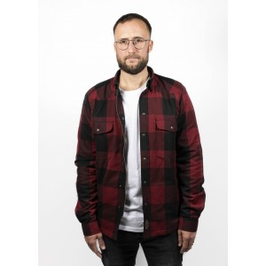 John Doe Hemd - Motoshirt Rot