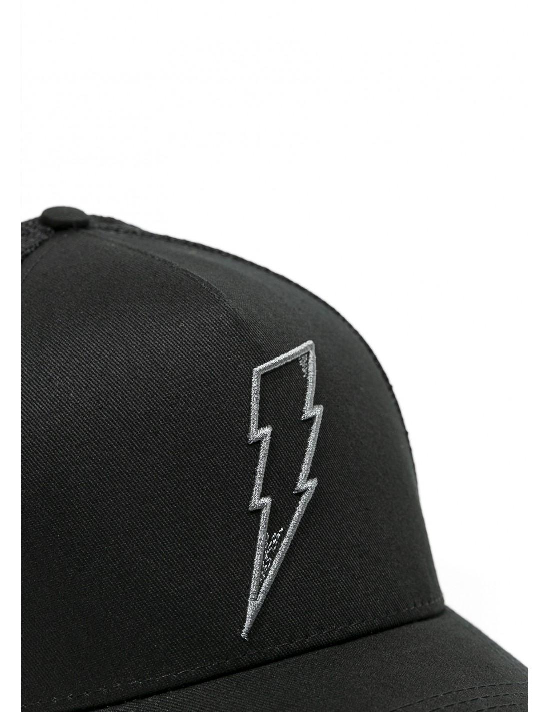 John Doe Cap Trucker Cap Flash Black