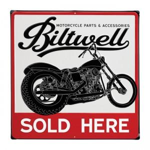 Biltwell Blechschild -...