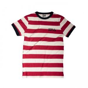 13 1/2 T-Shirt - TSR Rot/Weiss