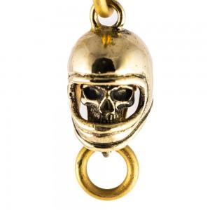 70s Keychain - Full Face Skull
