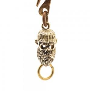70s Keychain - Skull Beard...