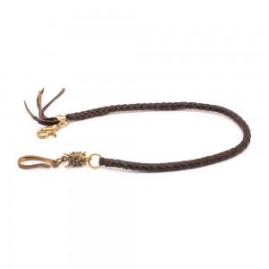 70s Leatherchain - Brown Braid