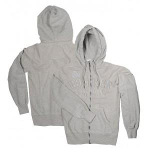 Rokker Zip Hoodie - TRC Grey