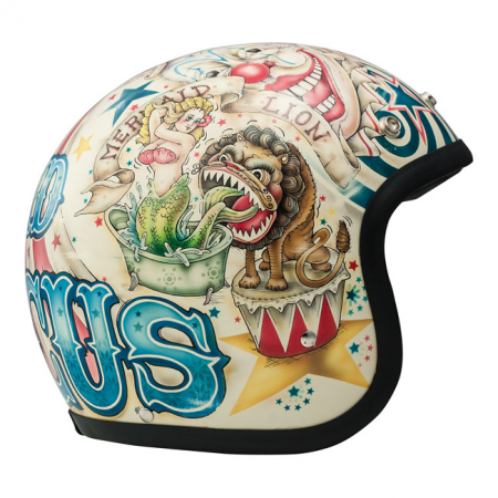 DMD Helmet Vintage - Circus with ECE