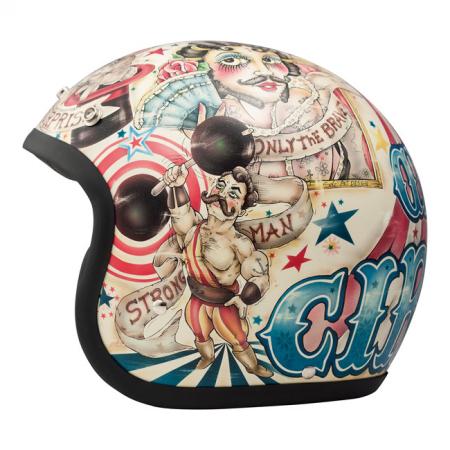 DMD Helm Vintage - Circus mit ECE